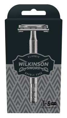 70051500 EU-MS-OF Wilkinson Sword Classic Razor plus 5ct Kit Carton 4027800515004 93373662