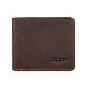brown-leather-bi-fold-zippo-wallet